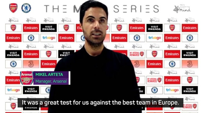 Preview image for Pre-season positives for Arteta and Arsenal despite defeat to 'best team in Europe'