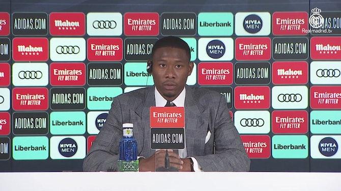 """Vorschaubild für Alaba bei Real: """"Bin beim größten Verein der Welt"""""""