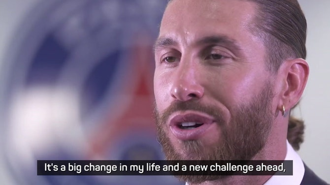 Preview image for Ramos describes 'special' move to PSG