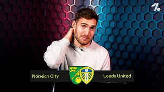 Preview image for PREDICTING Norwich City vs Leeds United!