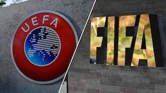 Vorschaubild für SZ: UEFA mit Brandbrief an FIFA-Boss Infantino wegen WM-Plänen