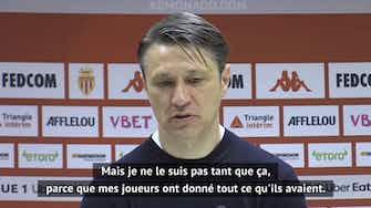 """Image d'aperçu pour 35e j. - Kovac : """"On est toujours devant Lyon"""""""