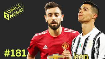 Preview image for Bruno Fernandes STALLS on new United contract + Ronaldo's dream is OVER!