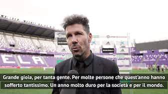 """Anteprima immagine per Simeone: """"Noi campioni in un anno difficilissimo. Il lavoro paga sempre"""""""