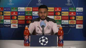 Preview image for Mahrez: As a boy you dream to play Champions League Semifinals and Finals | ©UEFA 2020