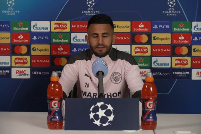 Mahrez: As a boy you dream to play Champions League Semifinals and Finals | ©UEFA 2020