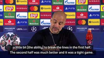 Preview image for Guardiola defends final selection after Chelsea defeat