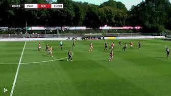 Vorschaubild für St. Pauli mit erstem Saisonsieg! | Highlights - FC St. Pauli vs. Phönix Lübeck