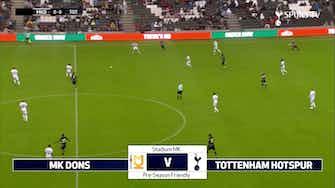 Imagem de visualização para Lucas marca em vitória do Tottenham sobre o MK Dons