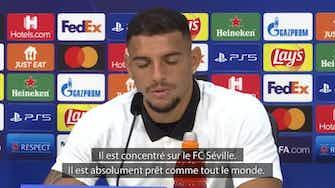 """Image d'aperçu pour FC Séville - Diego Carlos : """"Koundé est un excellent joueur"""""""