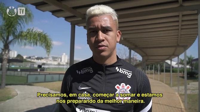 Imagem de visualização para Cantillo ressalta importância do confronto diante do Flamengo