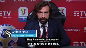 Preview image for Chiesa and Kulusevski are the future and present of Juve - Pirlo