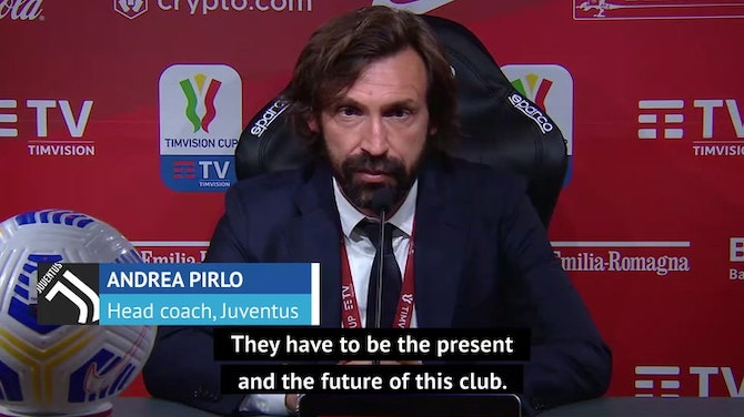 Chiesa and Kulusevski are the future and present of Juve - Pirlo