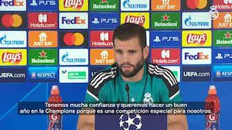 Imagen de vista previa para Nacho: 'Tenemos mucha confianza y queremos hacer un buen año en la Champions'