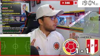 Imagen de vista previa para Reaccionando al Colombia 1-2 Perú: ¡Tristeza final!
