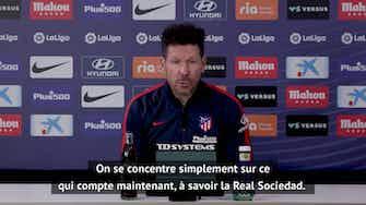 """Image d'aperçu pour 36e j. - Simeone : """"Il y aura toujours des polémiques dans le football"""""""