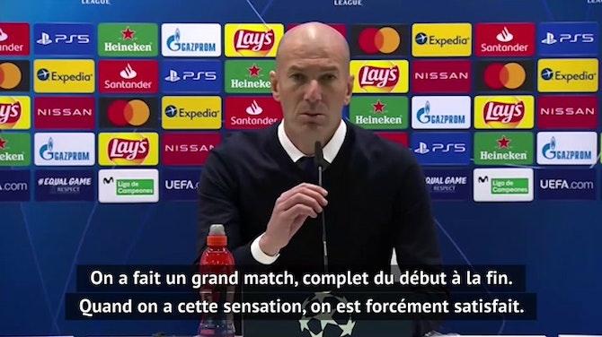 """8es - Zidane : """"Ce sera de plus en plus difficile"""""""