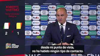 """Imagen de vista previa para Roberto Martínez: """"Es difícil tener que hablar de rumores"""""""