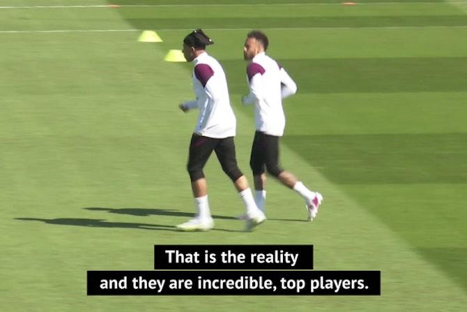 Guardiola losing sleep thinking about Neymar and Mbappe