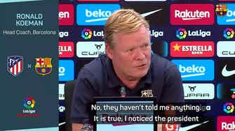 Preview image for  'I have eyes' - Koeman aware of sacking rumours