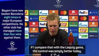 Preview image for Bayern take control against Barca as Koeman admits they're second best
