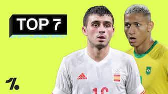 Imagem de visualização para Pedri ou Pombo? Brasil ou Espanha? TOP 7 jogadores mais CAROS das Olimpíadas