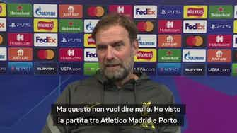 """Anteprima immagine per Klopp: """"Il Porto meritava di vincere contro l'Atletico"""""""