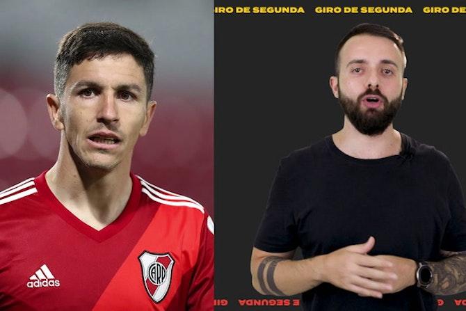 Giro de Segunda: Nacho No Atlético Mineiro