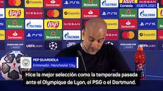 """Imagen de vista previa para Guardiola, en titulares: """"Intenté elegir la mejor alineación para ganar el partido"""""""