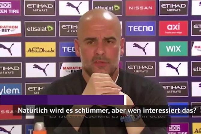 """Guardiolas Rundumschlag: """"Erklärt mir, warum!"""""""