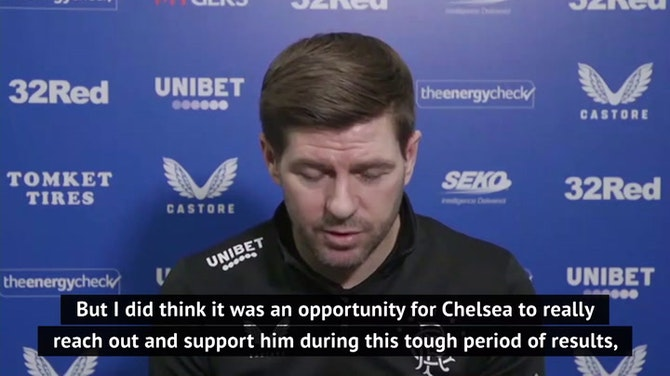 Preview image for 'Chelsea have history for it' - Gerrard unsurprised by Lampard sacking