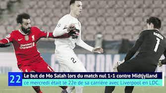 Image d'aperçu pour Liverpool - Salah, le buteur roi des Reds