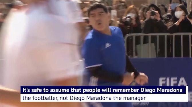 Maradona the manager