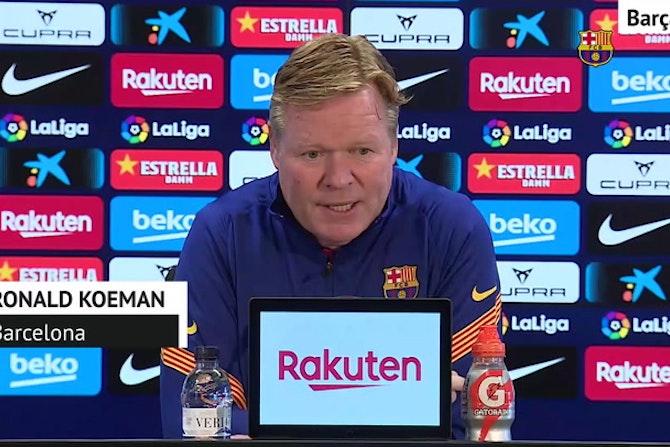 """Koeman, en titulares: """"Queremos ganar LaLiga"""""""