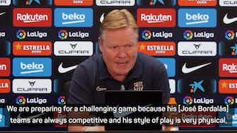 """Preview image for Koeman wary of """"critical"""" game against Valencia"""