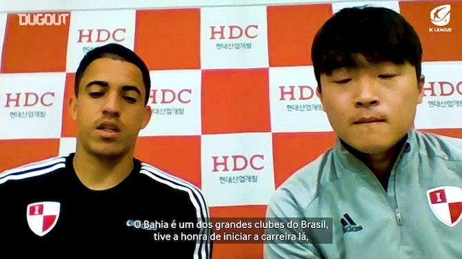 Exclusiva Dugout: Rômulo explica decisão de trocar Bahia por futebol coreano
