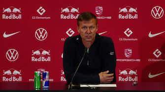 """Vorschaubild für RB-Coach Marsch glaubt an Trendwende: """"Dauert nicht mehr lange"""""""
