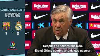 """Imagen de vista previa para Ancelotti, en titulares: """"El Clásico es el partido más importante pero son solo tres puntos"""""""