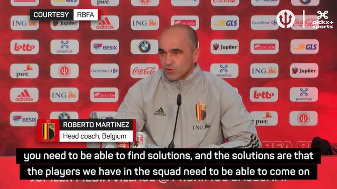 Preview image for Martinez staying positive before Euros as Belgium sweat on injuries