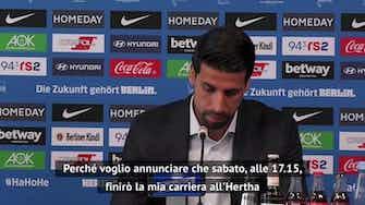 """Anteprima immagine per Khedira: """"Mi ritiro e... grazie Juve"""""""