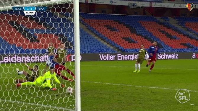 Image d'aperçu pour Les meilleurs buts d'Arthur Cabral avec le FC Bâle
