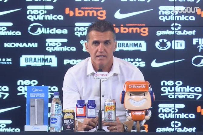 Mancini elogia Jemerson e fala sobre importância do zagueiro no Corinthians