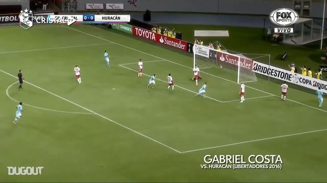 Sporting Cristal's latest goals against Argentinian teams