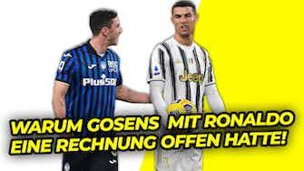Vorschaubild für Robin Gosens hatte mit Ronaldo noch eine Rechnung offen!