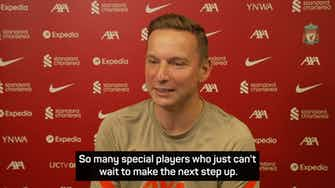 Preview image for Liverpool's academy has numerous 'diamonds' - assistant manager Lijnders