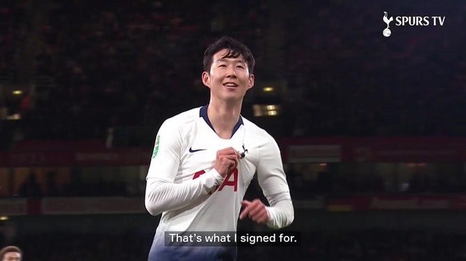 Preview image for Heung-Min Son signs new Spurs contract