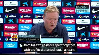Preview image for Koeman expects Depay and Griezmann to fill Messi void