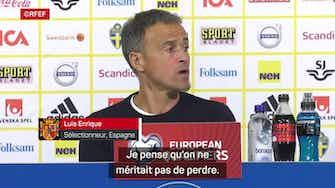 """Image d'aperçu pour  Espagne - Luis Enrique : """"C'est difficile d'être optimiste."""""""