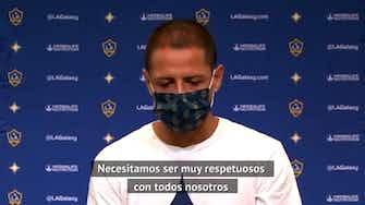 Imagen de vista previa para Chicharito Hernández respeta la decisión de Carlos Vela