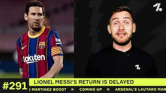 Preview image for Why Messi WON'T return to Barcelona training…
